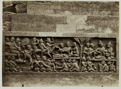 KITLV 28082 - Kassian Céphas - Relief of the hidden base of Borobudur - 1890-1891.tif