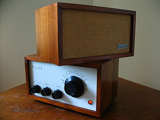 Henry Kloss - The KLH Model Eight FM table radio featured a precision-geared knob for tuning, excellent sound quality, and a minimalist design.