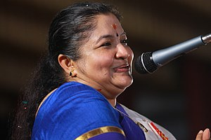 K. S. Chithra - Image: K s chithra