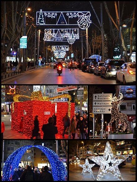 New Year's Eve decorations in Kadikoy, Istanbul. Kadikoy Yilbasi.jpg