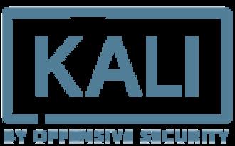 Kali Linux - Image: Kali 2.0 website logo 300x 90