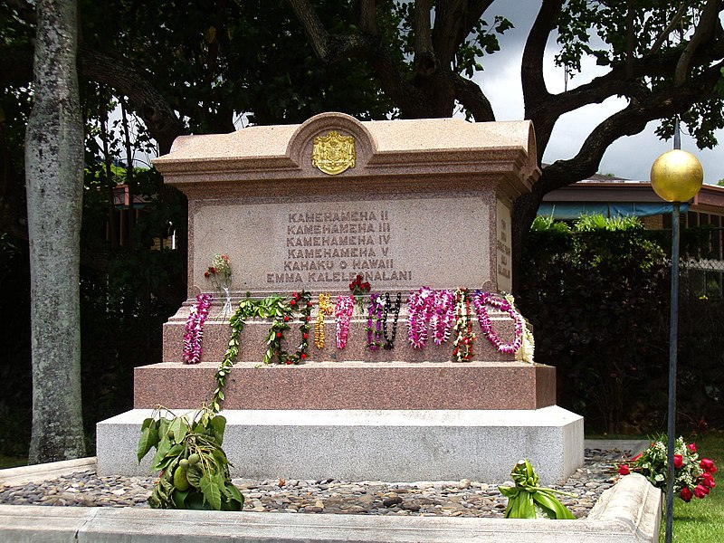 File:Kamehameha Dynasty Tomb - Royal Mausoleum, Honolulu, HI.JPG