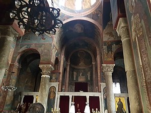 Church of Panagia Kapnikarea - Interior