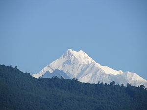 East Sikkim district - Image: Kanchengaga View from Gangtok