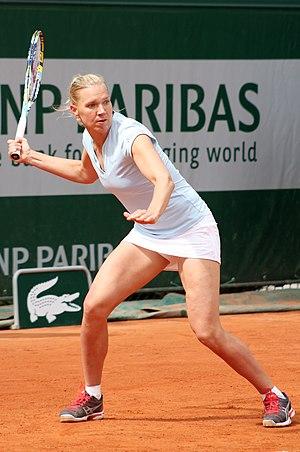 Kaia Kanepi - Kanepi at the 2013 French Open