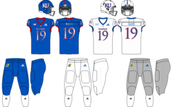 Kansas Jayhawks Fußball unif.png