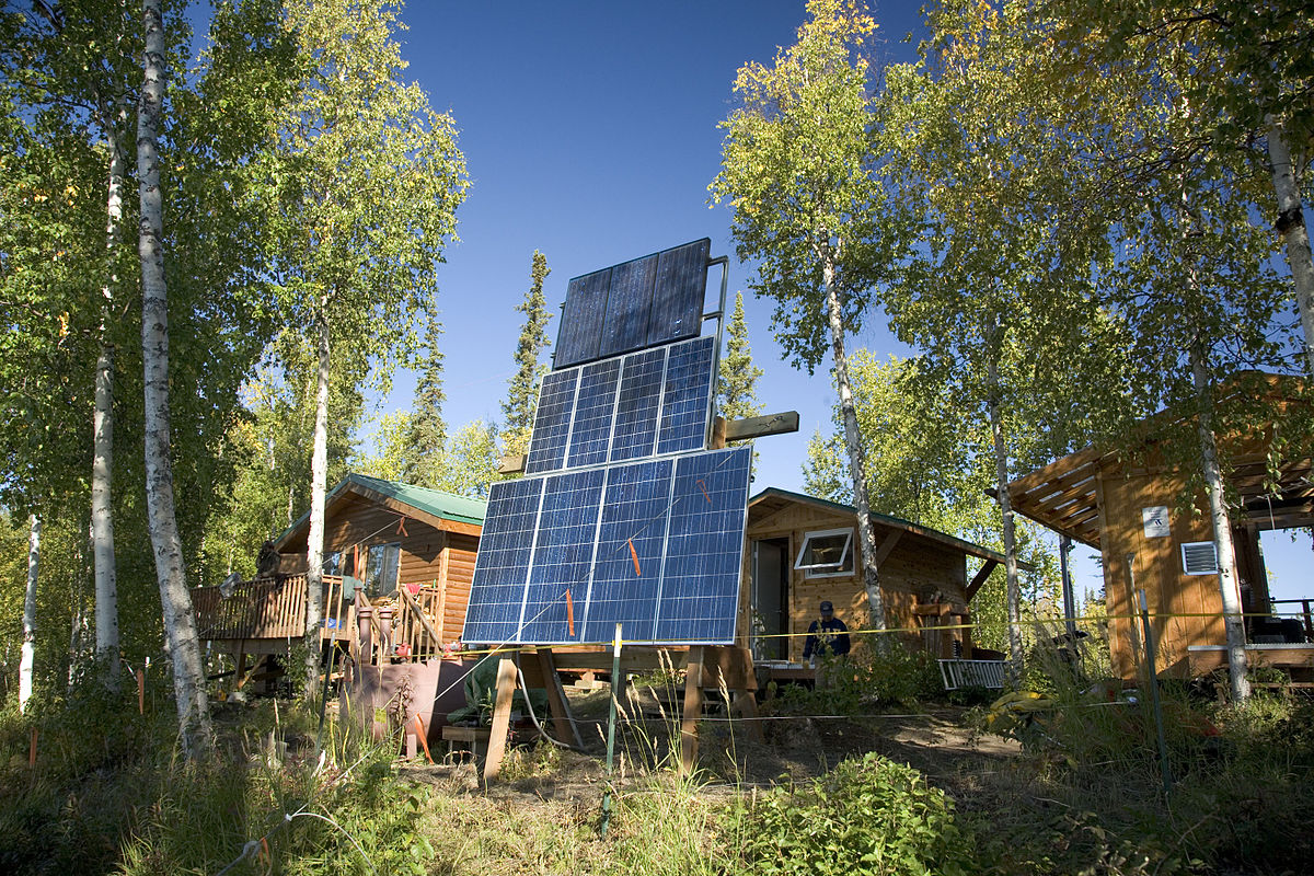 Solar Power In Alaska Wikipedia