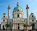 Karlskirche on Karlsplatz, Vienna.jpg