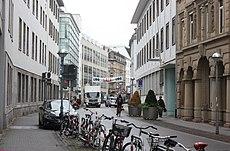 """Karlsruhe, die Straße """"Zirkel"""".JPG"""
