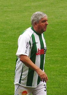 Karol Dobiaš Slovak football player and coach