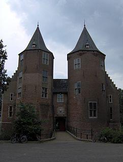 Dussen Village in North Brabant, Netherlands