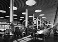 Kastrup Airport CPH, Copenhagen. Interior of tereminal, lounge 1961.jpg
