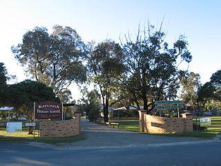 Katunga Town in Victoria, Australia