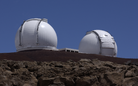 Keck Telescope (two units), Hawaii