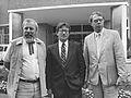 Kees Buurman, Fons van Westerloo en Chris van Hoorn (1985).jpg