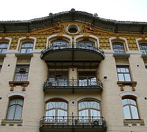 Lev Kekushev - Isakov Apartment Building, 1904-1906