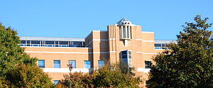 Kennesaw State University - The A. L. Burruss Building in spring