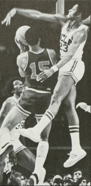 Kenny Booker - Booker (right) was a defensive specialist for the Bruins