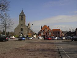 Flag Of Sint Lievens Houtem Flag