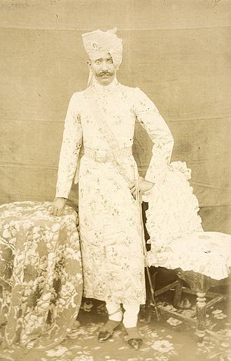 Piploda State - Kesri Singh, ruler of Piploda State from 1888 to 1919