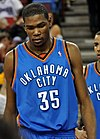 Kevin Durant at ARCO Arena