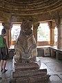 Khajuraho India, Nandi Temple - Nandi 02.JPG