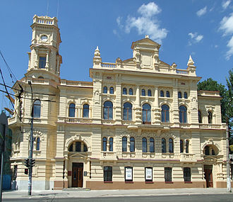 Kherson - Kherson Town Hall, now city art museum