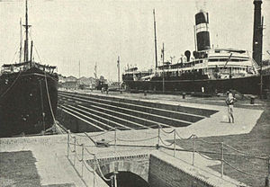 Port of Kolkata - Kidderpore Dry Dock, c. 1905