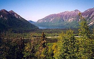 Kijik, Alaska - Scenery in the district