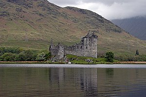 Clan Campbell - Kilchurn Castle, seat of the Campbells of Glenorchy.