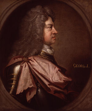 Electorate of Brunswick-Lüneburg - Image: King George I by Sir Godfrey Kneller, Bt (2)