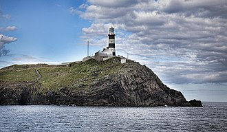 Old Head of Kinsale - Lighthouse on the Old Head near Kinsale, County Cork