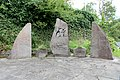 Kirchsahr (Eifel); Gedenkstätte an der Kirche a.jpg