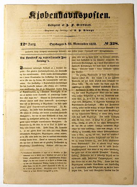 File:Kjøbenhavnsposten 28 nov 1838 side 1.jpg