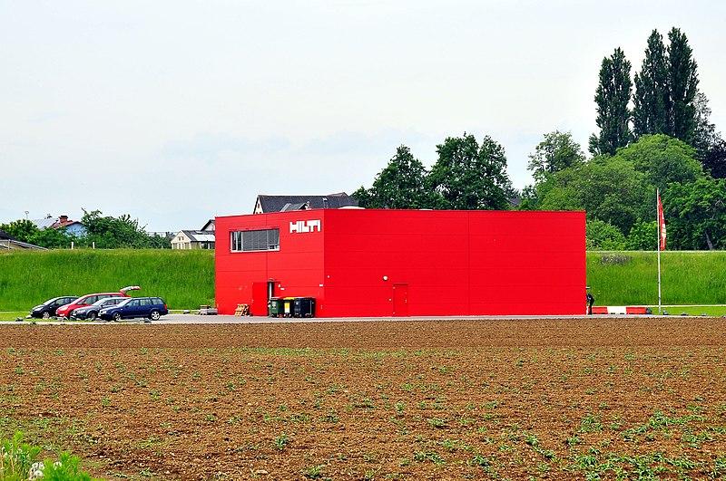 File:Klagenfurt Hoertendorf Aich an der Strasse Schuelerweg 50 HILTI Niederlassung 15052009 61.jpg