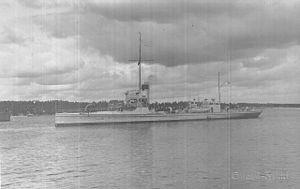 Finnish gunboat Klas Horn - Image: Klas Horn