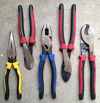 Klein Tools - Image: Klein Journeyman pliers