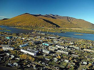 Klyuchi, Kamchatka Krai - View of Klyuchi