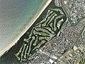 Koga Golf Club, Koga Fukuoka Aerial photograph.2007.jpg