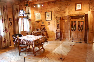 """Zakopane Style - Interior of Villa """"Koliba"""""""