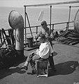 Koninklijke Nederlandse Brigade Prinses Irene. Landing in Normandië. Er is zelfs, Bestanddeelnr 934-9663.jpg