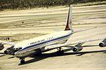 Korean Air Lines B707-300 HL7426 at BAH (15520685614).jpg