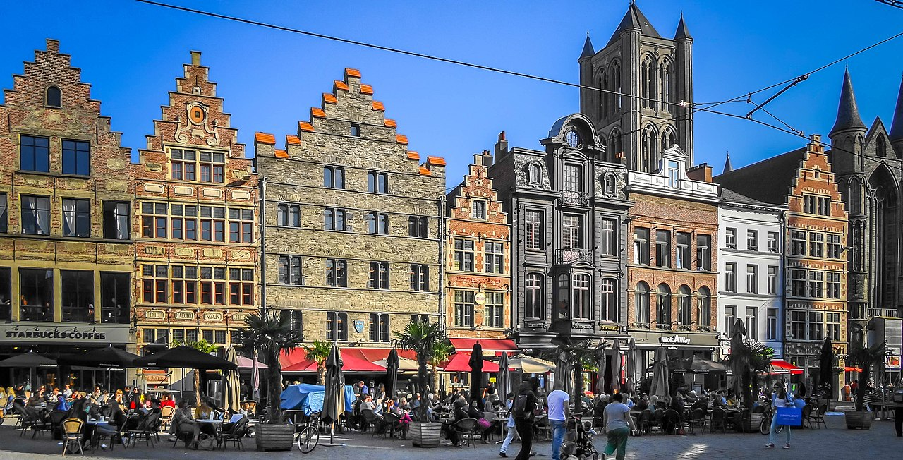 Korenmarkt, Gent - panoramio.jpg