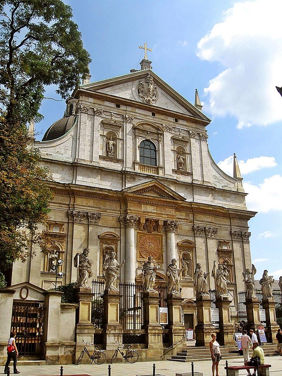 Kraków - Kościół Świętych Apostołów Piotra i Pawła