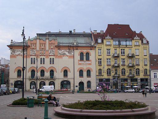 Krakow plac Szczepanski