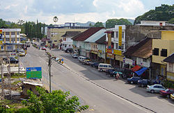 Skyline of Kuala Krai District