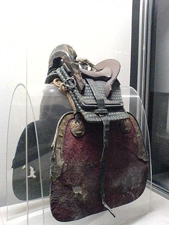 Kura (saddle) - Image: Kura Japanese saddle