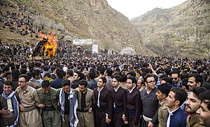 Newroz as celebrated by Kurds - Wikipedia