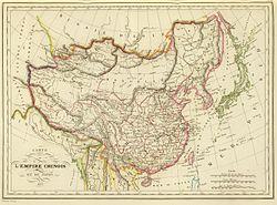 Carte Chine Antique.Histoire De La Chine Wikipedia