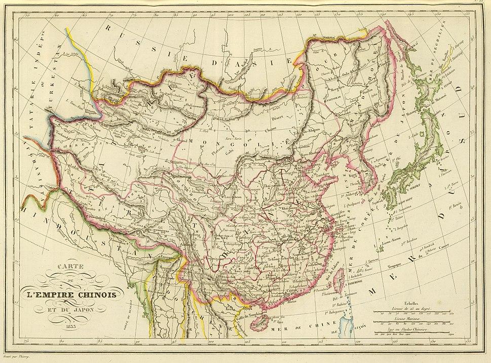L'Empire Chinois et du Japon (1833)